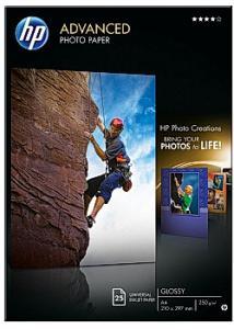 Fotopapper Q5456A A4 250g (fp om 25 blad)