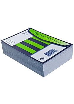 BONG Kuvert konsument fp Sv C6 linj vit (fp om 100 st)