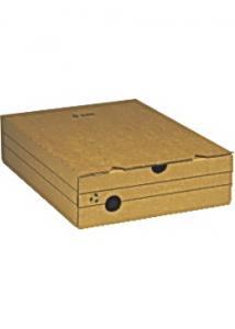 Arkivkartong A4 80mm brun