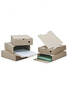 Boxon Arkivbox A4 60mm ryggbredd brun