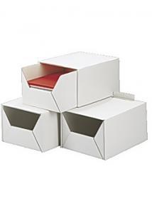 Arkivbox A4 315x220x160mm 2-delad vit