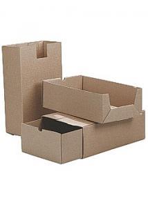 Arkivbox A65 228x120x395mm 2-delad brun