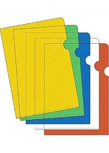 Aktmapp A4 0,12 sorterade färger (fp om 10 st)