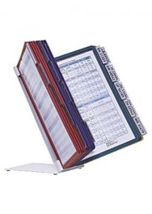 Durable Bordställ A4 med 20 ramar