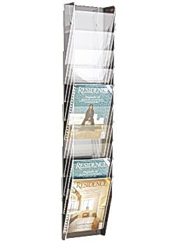 Blankettfack A4S 10-fack transparent