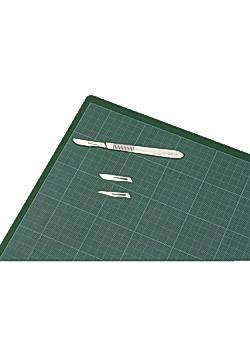 Bantex Skärunderlägg 30x45cm rutat