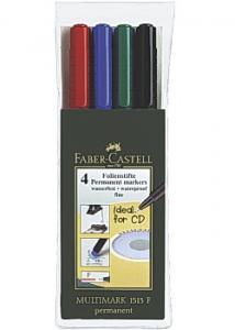 Faber-Castell OH-penna VF fine (fp om 4 st)