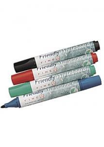Friendly Whiteboardpenna rund (fp om 4 st)