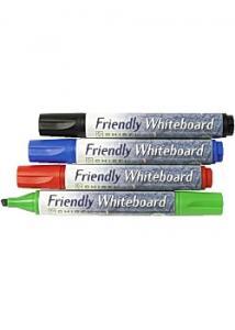 Friendly Whiteboardpenna sned (fp om 4 st)