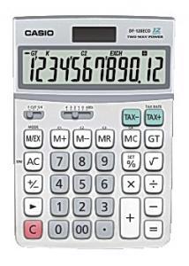 Casio Bordsräknare DF-120ECO