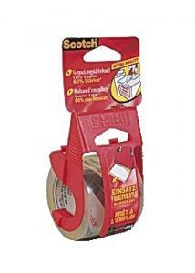 Scotch® Packtejp 20mx50mm klar (rulle om 20 m)