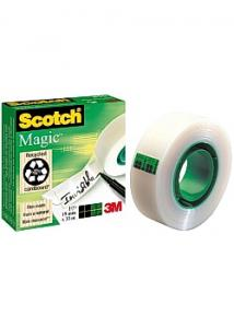Scotch Magic Dokumenttejp 810 33mx12mm (rulle om 33 m)