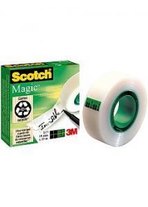 Scotch Magic Dokumenttejp 810 33mx19mm (rulle om 33 m)