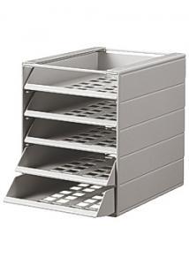 Durable Blankettbox Idealbox Basic 5-fack grå (fp om 5 st)