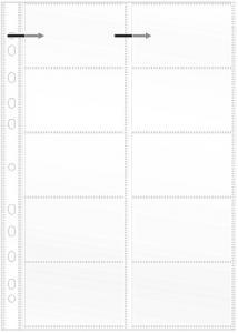Visitkortsficka A4 (fp om 10 st)