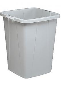 Durable Papperskorg 90 L rektangulär grå