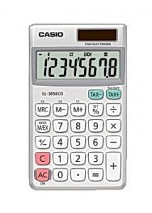 Casio Miniräknare SL-305ECO