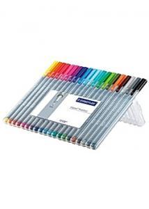 Staedtler Fineliner triplus 20 färger (fp om 20 st)