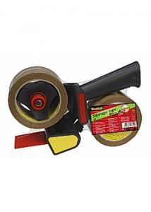 Scotch® Packtejp PP Acryl med hållare (set om 3 st)