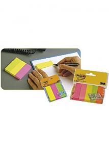 Post-it® Index 3 färger 25x76mm (fp om 3 block)
