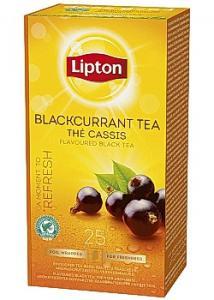 Lipton Te påse Blackcurrant (fp om 25 påsar)
