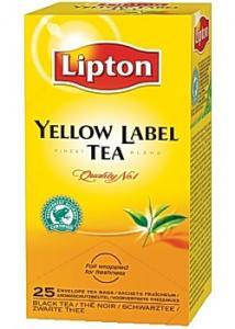 Lipton Te påse Yellow Label p (fp om 25 st)