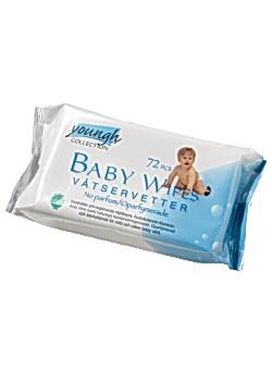 ABENA Våtservett Baby (fp om 72 st)