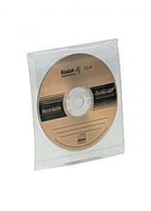 CD-Ficka självh m klaff (fp om 5 st)
