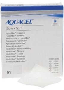 AQUACEL-Ag 5x5cm (fp om 10 st)