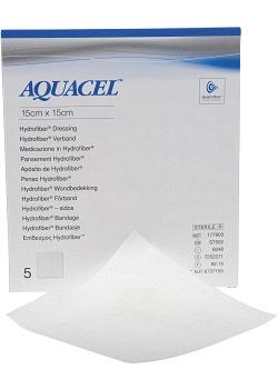 AQUACEL-Ag 15x15cm (fp om 5 st)