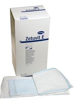 Abs.förb. ZETUVIT E steril 10x20cm (fp om 25 st)