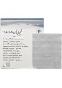 AQUACEL-Ag Ag silverförband 10x10cm (fp om 10 st)