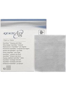 AQUACEL-Ag Ag silverförband 5x5cm (fp om 10 st)