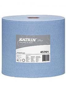 KATRIN Industritorkrulle Plus Poly XL2 200m blå (rulle om 200 m)