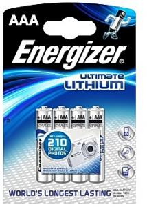 Energizer Batteri Lithium AAA (fp om 4 st)
