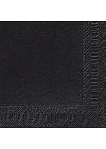 Duni Servett 3-lags 40x40cm svart (fp om 125 st)