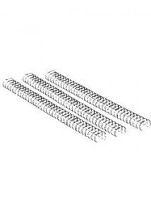 Wirespiraler 34-öglor 8mm svart (fp om 100 st)