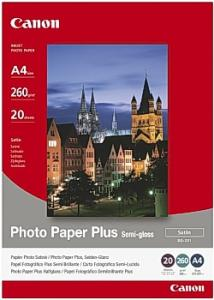 Canon Fotopapper SG-201 A4 260g (fp om 20 blad)