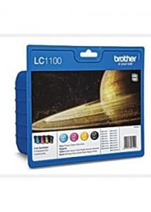 Bläckpatron LC1100BK/C/M/Y (fp om 4 st)