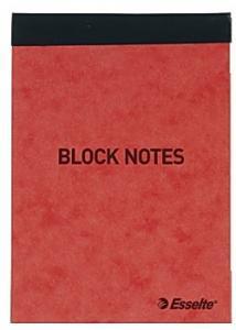 Esselte Blocknotes A7 60g 50 blad linjerat