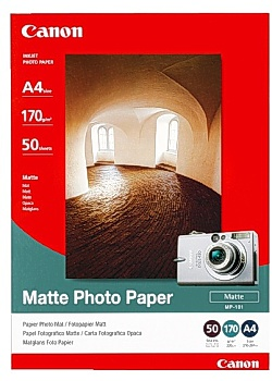 Canon Fotopapper MP-101 A4 170g (fp om 50 blad)