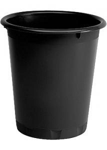 Durable Papperskorg Basic rund 13L svart