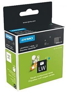 Dymo Etikett universal 25x25mm (fp om 750 st)