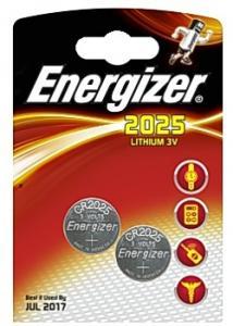 Energizer Batteri Cell Lithium 2025 (fp om 2 st)