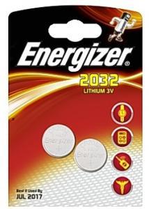 Energizer Batteri Cell Lithium 2032 (fp om 2 st)