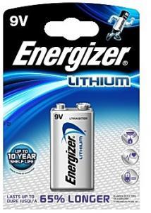 Energizer Batteri Lithium E 9,0 V