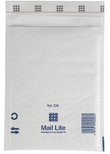 Mail Lite® Bubbelpåse 150x210mm vit (fp om 100 st)