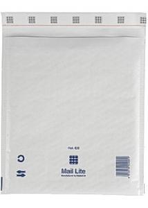 Mail Lite® Bubbelpåse 220x260mm vit (fp om 100 st)