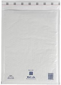 Mail Lite® Bubbelpåse H5 270x360mm vit (fp om 10 st)