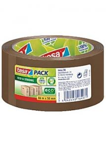 tesa® Packtejp Eco Strong 66mx50mm brun (rulle om 66 m)
